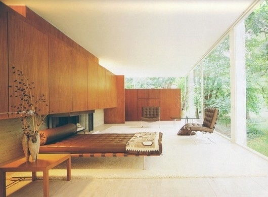 The Interiors of Mid-Century Modern #interior #modern #design #wood #vintage #midcentury