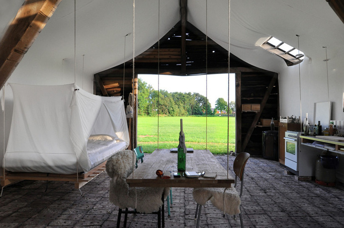 uli schallenberg modifies old wooden barn into a luminous living space #home