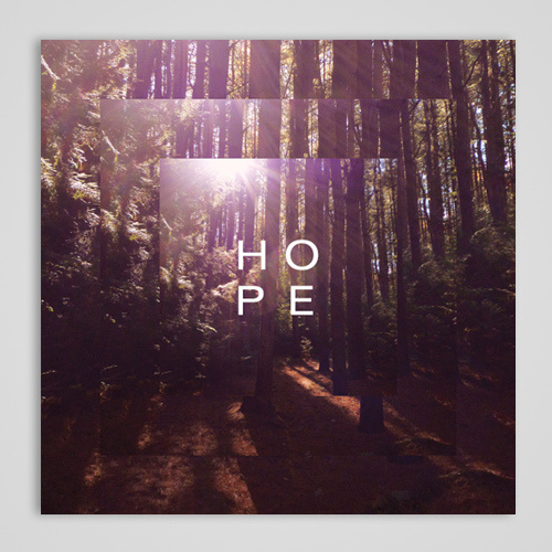 Qwill and Resonance / Hope #album #tree #woods #cover #photography #square #music #cd