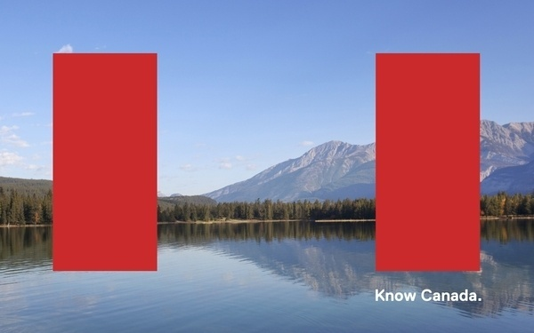 REDESIGNING CANADA FOR THE 21st CENTURY on the Behance Network #canada #know #identity #red