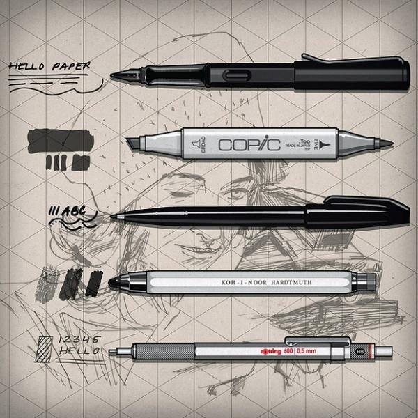 Join the Conversation #illustration #sketch #ink #pen
