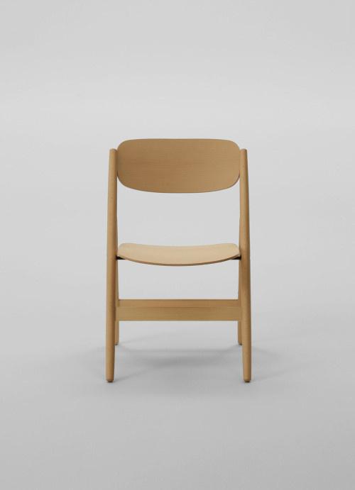 Hiroshima Folding Chair by Naoto Fukusawa #chair #japanese #furniture #fukasawa #minimal