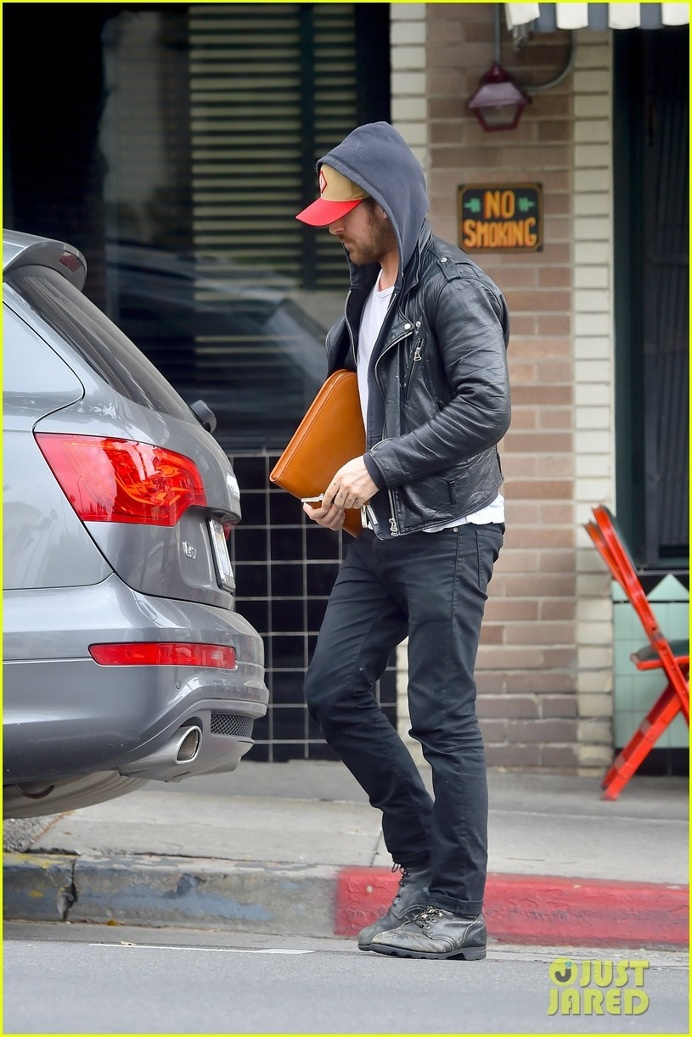 3.1 Phillip Lim Motorcycle Leather Jacket. I believe it's from 2011.