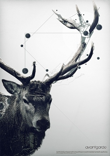 avantgarde on the Behance Network #poster #art