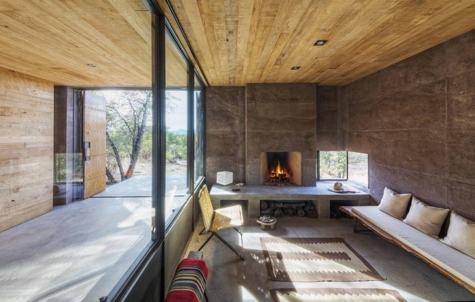 Casa Caldera – Small Shelter in Arizona by DUST