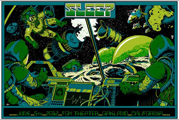 GigPosters.com Sleep #illustration #scene #space