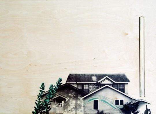 Screen print on Wood #onwood