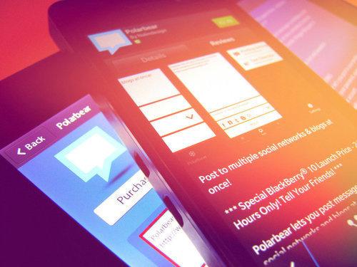 Polarbear App Now Available For BlackBerry 10 & PlayBook!