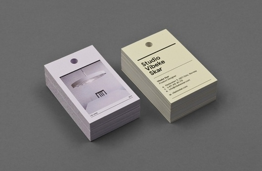 Vibeke Skar | Christian Bielke #business card