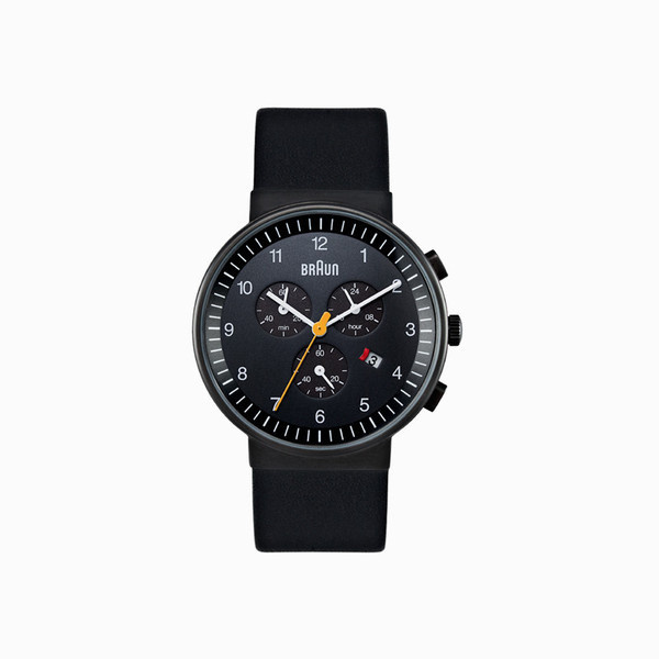 Braun BN0035 Ceramic Black #braun #black #watch