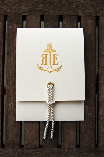 Typeverything.com @typeverything Ryan Erin... - Typeverything #paper #letterpress #anchors #typography