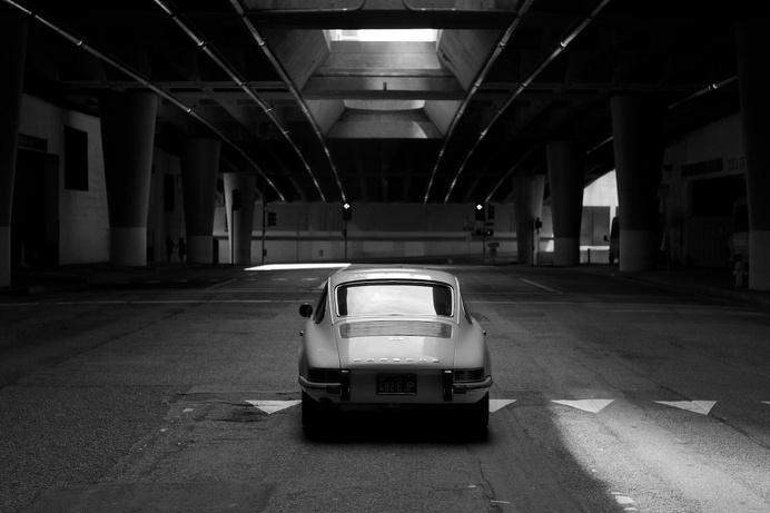 Source: flat-six #black car