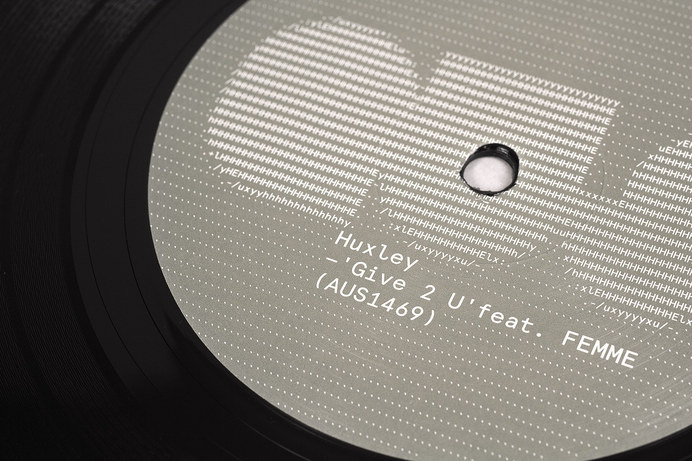 AUS Records – Huxley LP/Singles — Build #mm