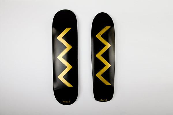 gold_gradient_above #grnadburo #red #moodnyc #black #grandburo #gold #logo #skateboards #typography