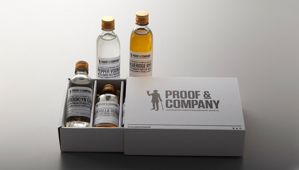 ProofandCompany #packaging #drink #box #label