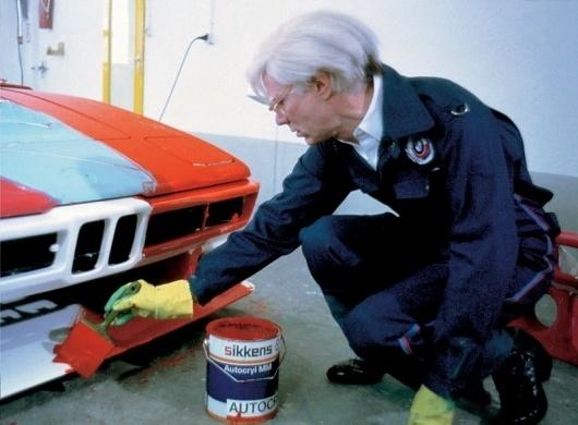 BMW Art Car at Andy Warhol Museum - Pittsburgh, PAP & W BMW Blog #bmw #car #warhol #art