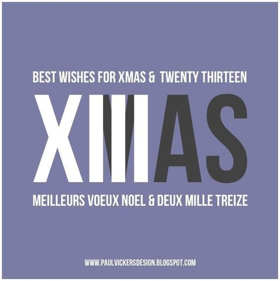 Creative Review Xmas and 2013 New Years Greetings #xmas #2013 #xiii