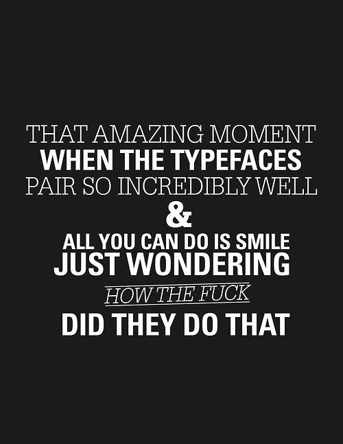 Tumblr #print #design #graphic #black #typefaces #poster #layout #pairing #typography