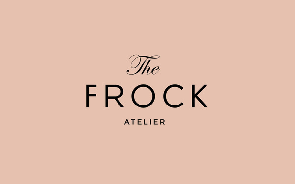 The Frock on Behance #logo #brand