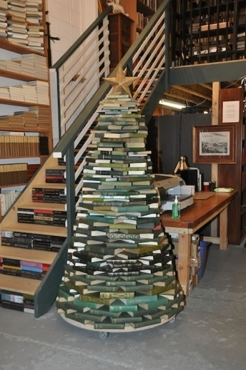 book-christmas-tree.jpg (Immagine JPEG, 500x751 pixel) #christmas #tree