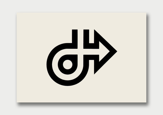 Logo Collection – Arrows Point the Way, 1960s/70s #forms #logos