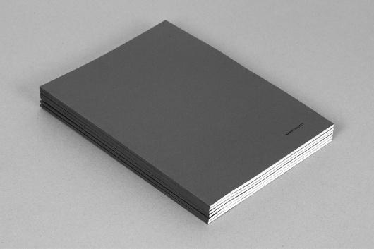 Graduate Portfolio - Aaron Gillett #folio #minimal #grey
