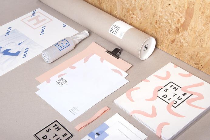 The Studio branding #visual #branding #design #graphic #identity #stationery