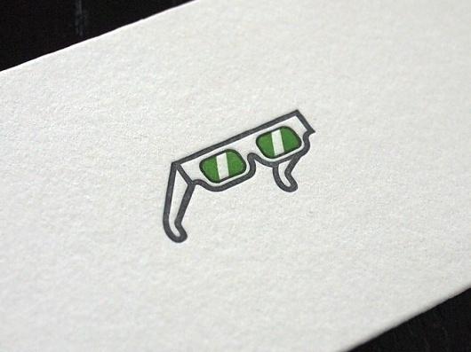 Sandymontana - The Pressure #glasses #letterpress