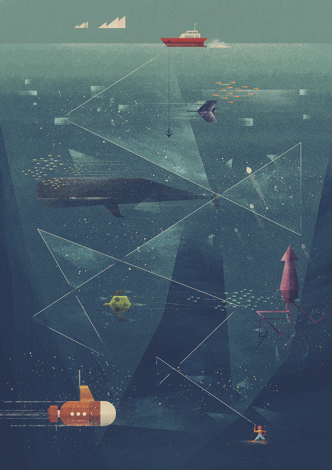 Poster Society – Dan Matutina is Twistedfork #inspiration #illustration #design #poster