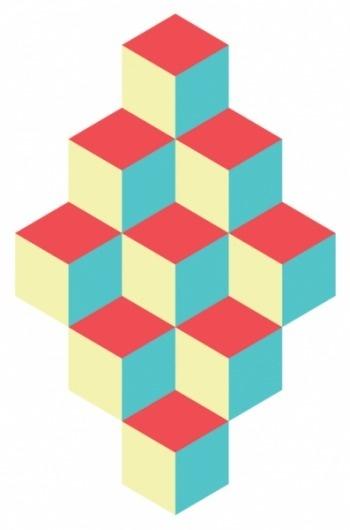 Benny Arts #pattern #cubes #benny #arts #pastel