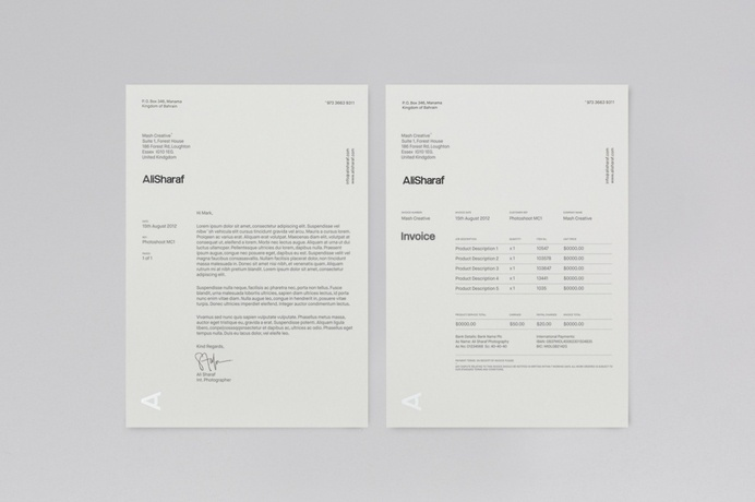 #invoice #stationery