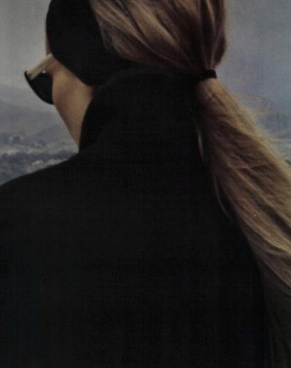 Google Reader (1000+) #girl #sunglasses #black #hair #vintage