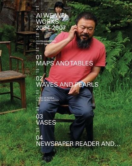 艾未未作品集2004-2007 - 书刊 - 图酷 - AD518.com #weiwei #design #book #cover #grid #ai #layout