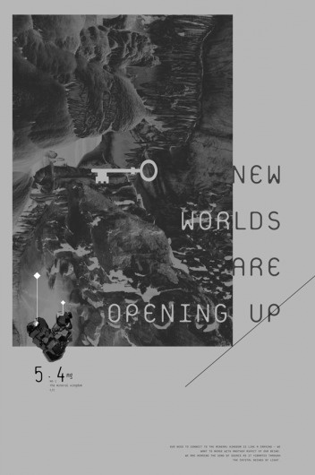 Buamai - New Worlds : Opening up #illustration