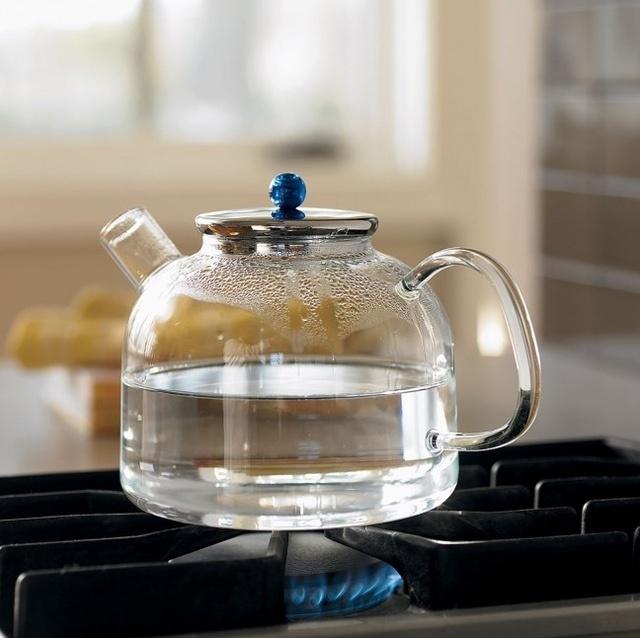 Heat Proof Glass Tea Kettle #tech #flow #gadget #gift #ideas #cool