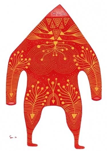 Three : Cosmic Nuggets #pattern #nuggets #design #illustration #organic #character #cosmic