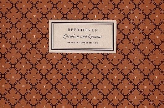Jan Tschichold for Penguin Scores, 1949 | Type Desk #design #graphic #book #cover #tschichold #jan #music #patterns