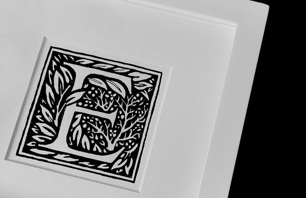 Matthew Hancock #hancock #morris #william #print #illustration #matthew #illuminated #art #letterform #typography