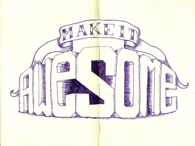 Inspiration | Jordan Lloyd #make #awesome #sketch