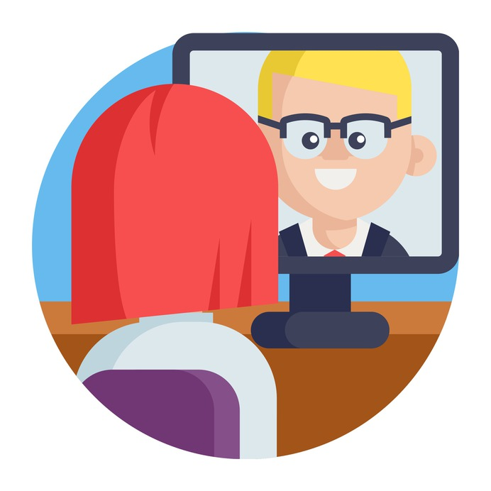 See more icon inspiration related to teamwork, worker, video conference, employee, team, communications, meeting, videocall, group, networking, business, technology and computer on Flaticon.