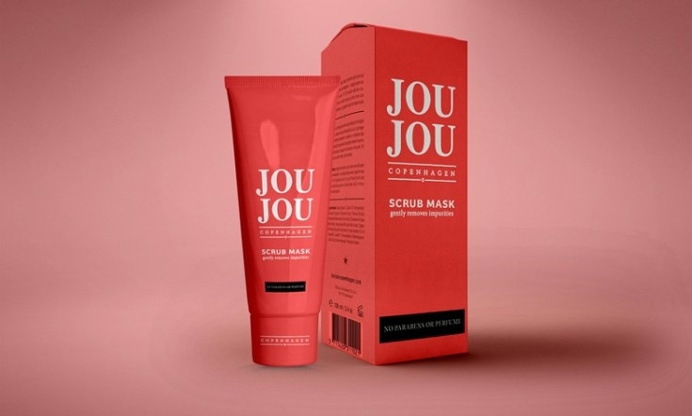 Free Cosmetic Packaging Box Mockup