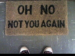 FFFFOUND! | plastic_sfoonss on Xanga #doormat