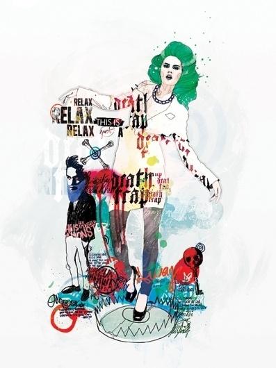 2011 on the Behance Network #illustration #vicenzi #raphael
