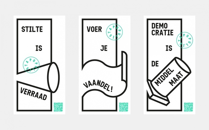 Populista - Bauke van der Laan #layout #illustration