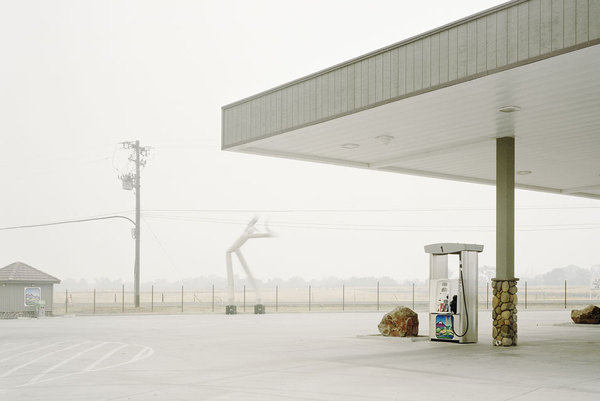 Photographs of Wildfires by Youngsuk Suh at Haines Gallery #youngsuk #suh #photography #fog