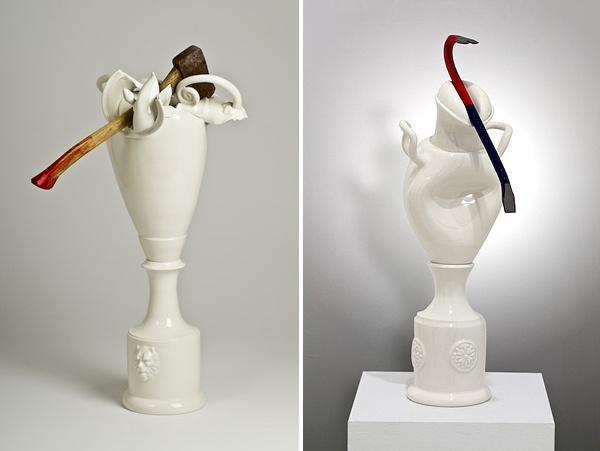 Laurent Craste   PICDIT #sculpture #design #art #ceramic