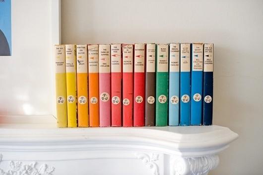 gordon burniston #colour #books #sequence #set