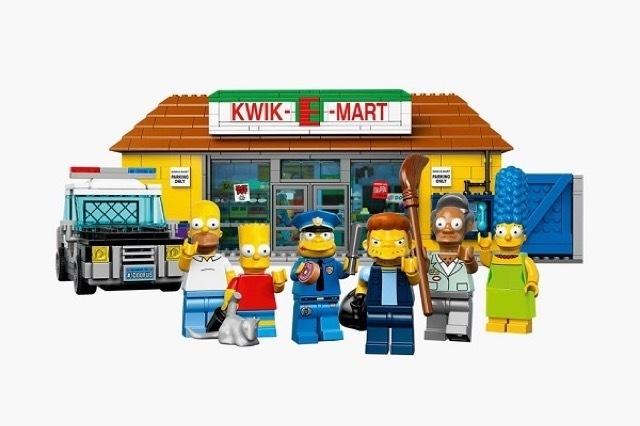 The Kwik-E-Mart From The Simpsons Lego_4 #simpsons #kwik-e-mart #lego #the