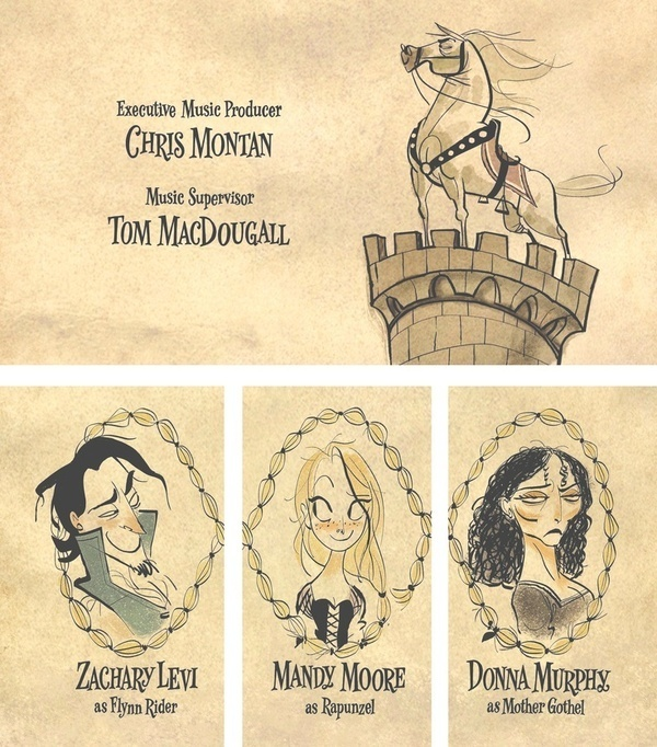 Beautiful drawings by Shiyoon K From the Tangled credit sequence. #illustration #disney #tangled