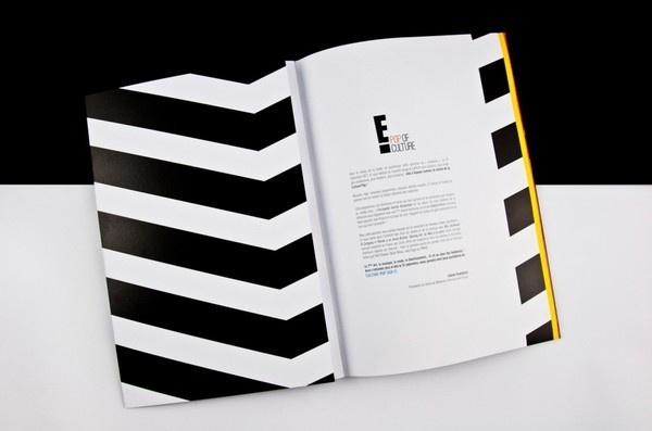 E! by LaPetiteGrosse #design #graphic #rebranding #press #kit #editorial